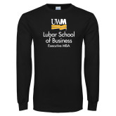 Black Long Sleeve T Shirt-Lubar School of Business Executive MBA