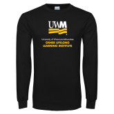 Black Long Sleeve T Shirt-OSHER
