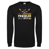 Black Long Sleeve T Shirt-2019 Panther Prowl 5K
