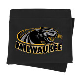 Black Sweatshirt Blanket-Official Logo