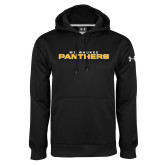 Under Armour Black Performance Sweats Team Hoodie-Milwaukee Stacked