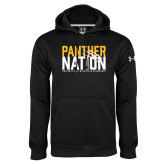Under Armour Black Performance Sweats Team Hoodie-Panther Nation