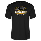 Performance Black Tee-Mens Soccer