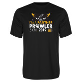 Performance Black Tee-2019 Panther Prowl 5K