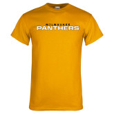 Gold T Shirt-Milwaukee Stacked