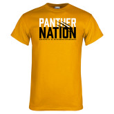 Gold T Shirt-Panther Nation