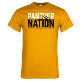Gold T Shirt-Panther Nation