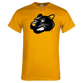 Gold T Shirt-Pounce Head