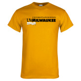 Gold T Shirt-Primary University Mark