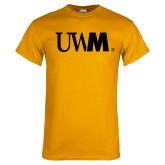 Gold T Shirt-UWM