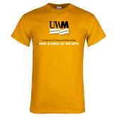 Gold T Shirt-Peck School of Arts