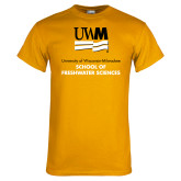 Gold T Shirt-FreshWater Sciences