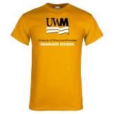 Gold T Shirt-Graduate School