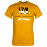 Gold T Shirt-College of Letters and Science