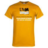 Gold T Shirt-Helen Bader School