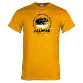 Gold T Shirt-Alumni Association
