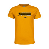 Youth Gold T Shirt-2018 Womens Soccer Champions