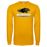 Gold Long Sleeve T Shirt-Womens Soccer