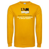 Gold Long Sleeve T Shirt-Engineering and Applied Sciences