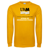Gold Long Sleeve T Shirt-Information Studies