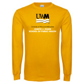 Gold Long Sleeve T Shirt-Joseph J Ziber