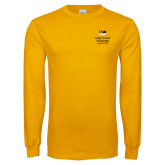 Gold Long Sleeve T Shirt-Lubar School of Business Executive MBA