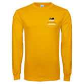 Gold Long Sleeve T Shirt-OSHER