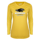 Ladies Syntrel Performance Gold Longsleeve Shirt-Mens Soccer