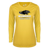 Ladies Syntrel Performance Gold Longsleeve Shirt-Womens Soccer