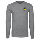 Grey Long Sleeve T Shirt-Alumni Association