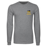 Grey Long Sleeve T Shirt-OSHER