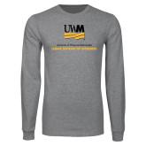 Grey Long Sleeve T Shirt-Lubar School