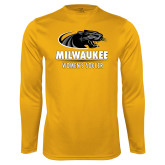 Performance Gold Longsleeve Shirt-Womens Soccer