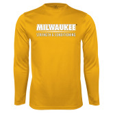 Performance Gold Longsleeve Shirt-Strength and Conditioning