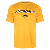 Performance Gold Tee-Panthers Script