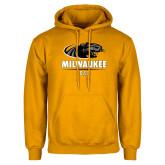 Gold Fleece Hoodie-Dad