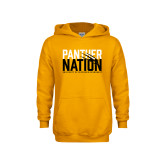 Youth Gold Fleece Hoodie-Panther Nation