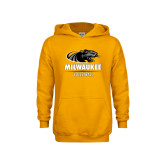 Youth Gold Fleece Hoodie-Volleyball