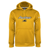 Under Armour Gold Performance Sweats Team Hoodie-Panthers Script
