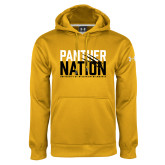Under Armour Gold Performance Sweats Team Hoodie-Panther Nation