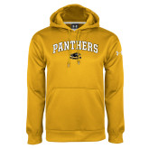 Under Armour Gold Performance Sweats Team Hoodie-Arched Panthers