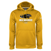 Under Armour Gold Performance Sweats Team Hoodie-Dad