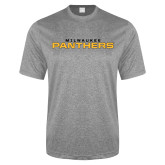Performance Grey Heather Contender Tee-Milwaukee Stacked