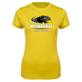 Ladies Syntrel Performance Gold Tee-Mens Soccer