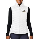 Columbia Mighty LITE Ladies White Vest-Official Logo