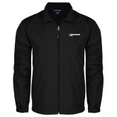 Full Zip Black Wind Jacket-UW Milwaukee