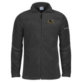 Columbia Full Zip Charcoal Fleece Jacket-Official Logo
