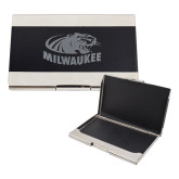 Bey Berk Carbon Fiber Business Card Holder-Official Logo Engraved
