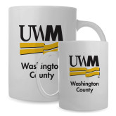 Full Color White Mug 15oz-UWN Washington County vertical