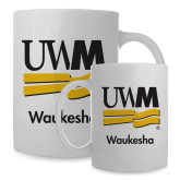 Full Color White Mug 15oz-UWN Waukesha Vertical
